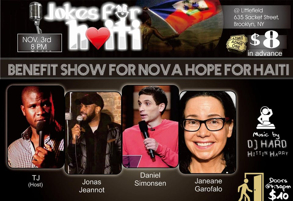 4th Annual Jokes For Haiti Benefit ft. Janeane Garofalo