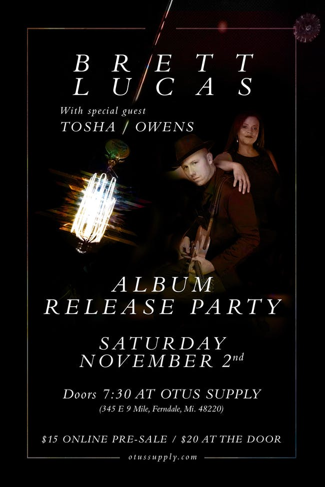 Brett Lucas and Tosha Owens Record Release Party