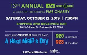 AAF's 13th Annual Benefit Bash ft. Beatles Tribute Band Hard Nights Day!