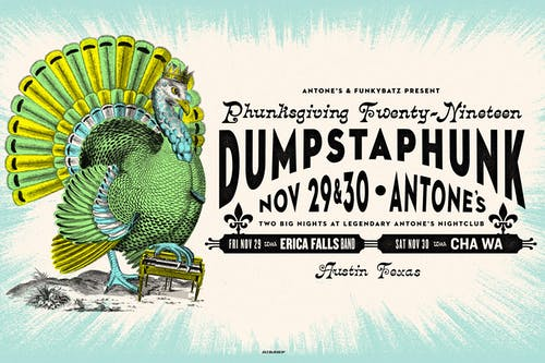 Dumpstaphunk's 2nd Annual Phunksgiving w/ Erica Falls Band