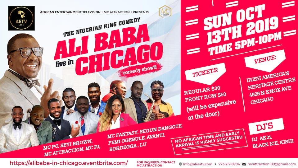 Ali Baba: Live in Chicago