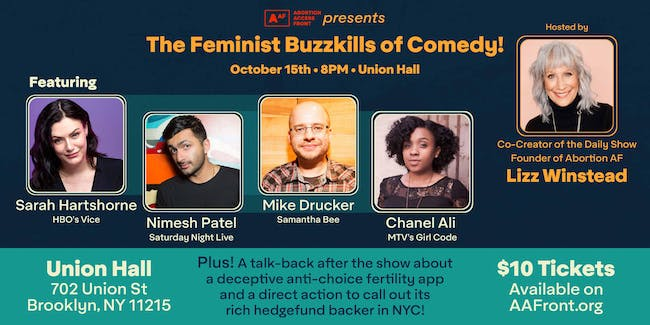 The Feminist Buzzkills of Comedy