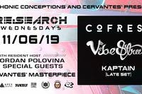 RE:Search ft. Cofresi & Vibe Street w/ Kaptain (Late Set), Jordan Polovina