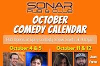 Jon Gagnon and Robert Peng - Saturday October 26th, 2019 - doors 9pm, Show at 9:30pm!