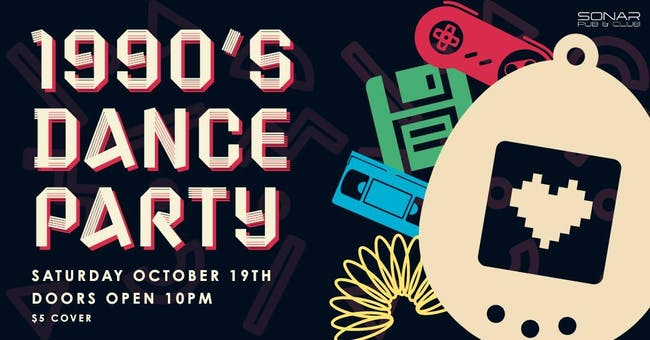 2000's Dance Party Saturday October 19th!