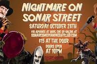 Sonar Halloween Party Saturday October 26th!