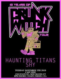 Crunk Witch, Haunting Titans, SHY