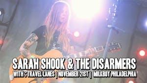 Sarah Shook & The Disarmers w/ Travel Lanes