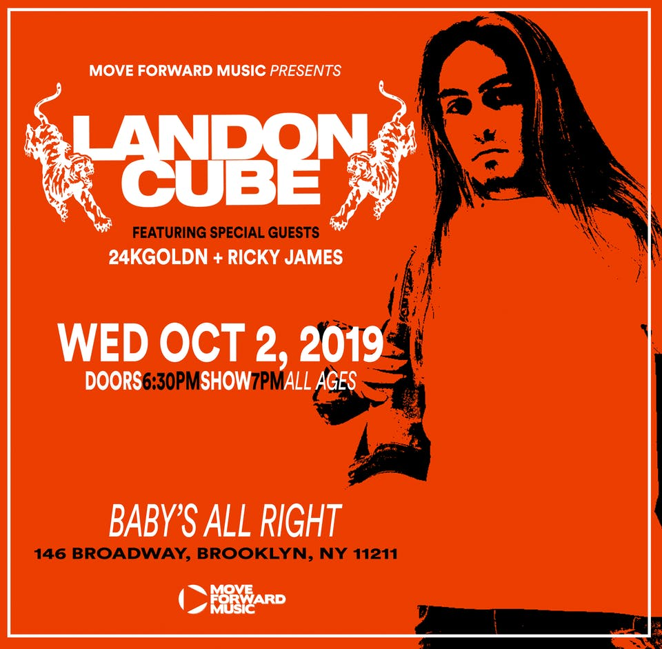 Landon Cube with 24kGoldn, Ricky James