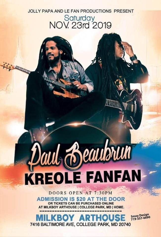Paul Beaubrun / Kreole Fanfan