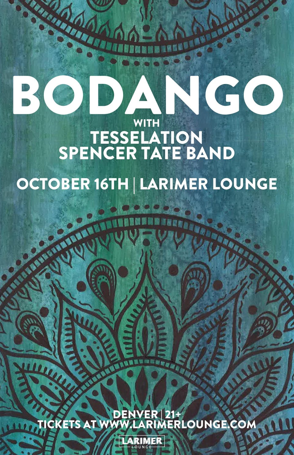 Bodango / Tesselation / Spencer Tate Band