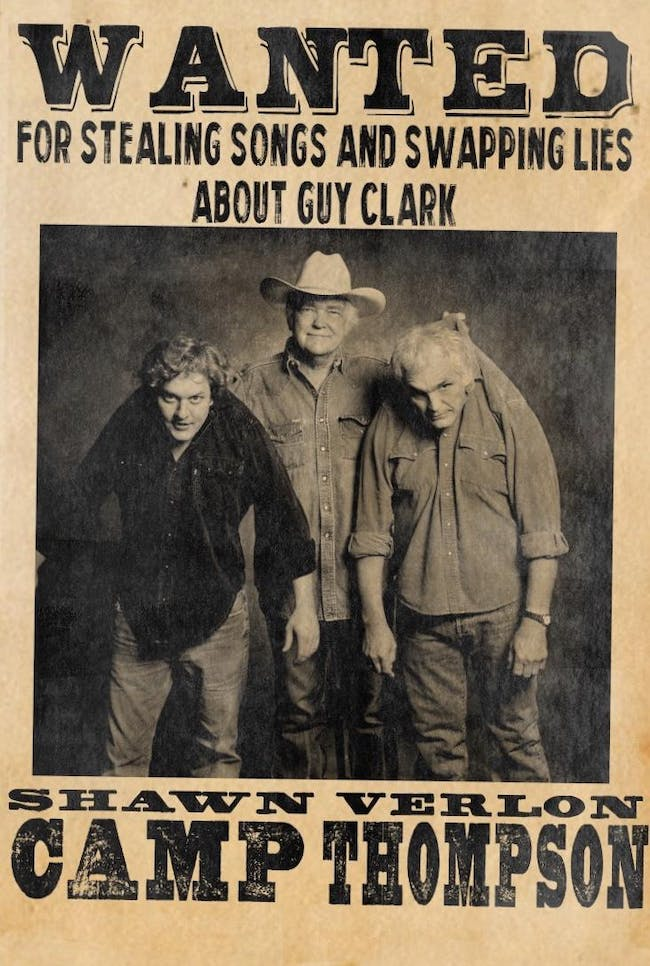 Guy Clark Tribute Show featuring Shawn Camp & Verlon Thompson