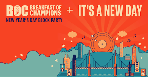 It's A New Day + Breakfast Of Champions Block Party 2020