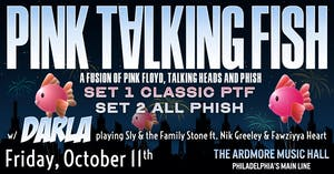 Pink Talking Fish (Playing the music of Pink Floyd, The Talking Heads & Phish)