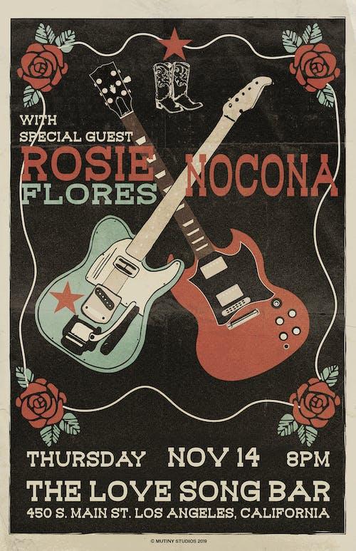 Rosie Flores  + NOCONA