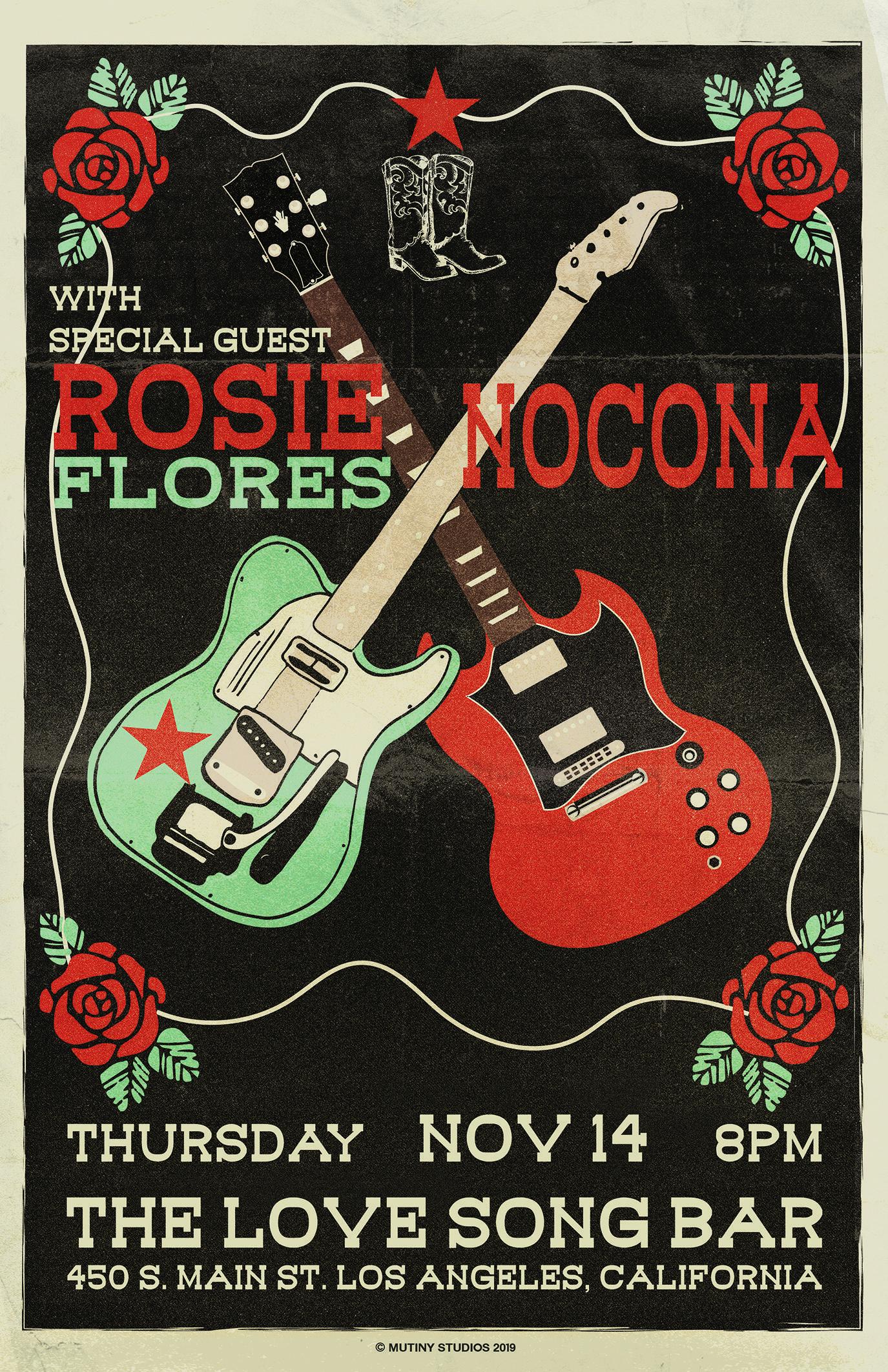 NOCONA with special guest Rosie Flores
