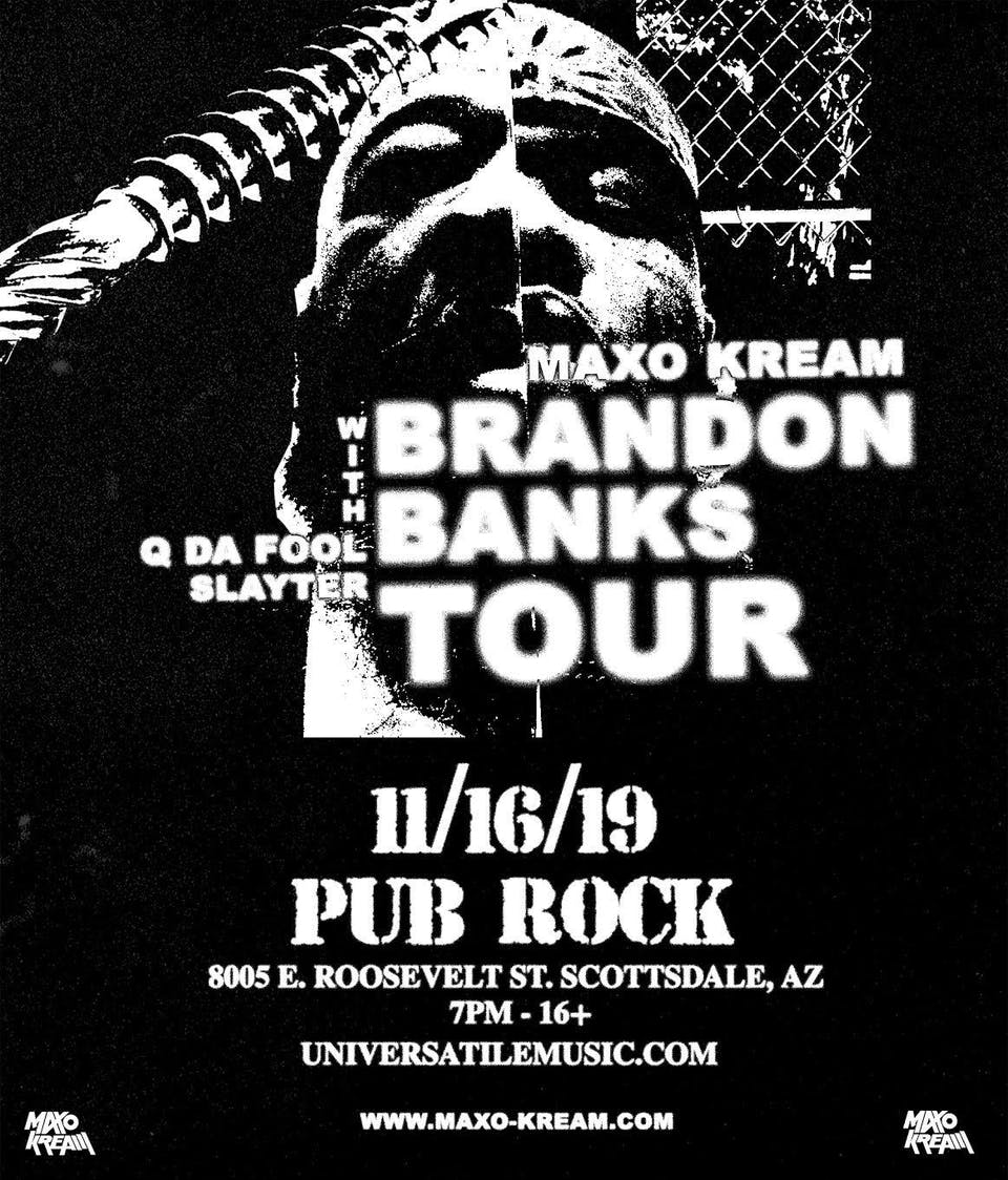 Maxo Kream: Brandon Banks Tour