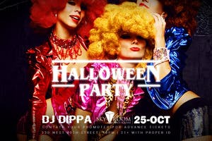 Halloween Party at Sky Room 10/25