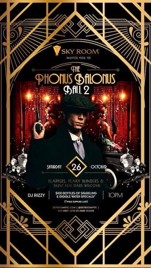 Phonus Balonus Ball Halloween Party @ Sky Room Saturday 10/26*