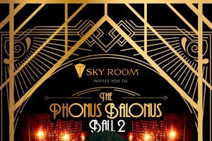 Phonus Balonus Ball Halloween Party at Sky Room Saturday 10/26