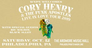 Cory Henry & the Funk Apostles w/ Ric Wilson + Black Alley