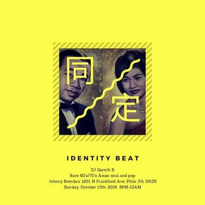 Identity Beat with DJ Gareth B