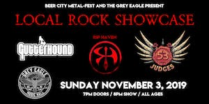 LOCAL ROCK SHOWCASE: Gutterhound, Rip Haven, 53 Judges