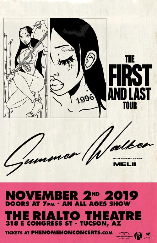Summer Walker - The First and Last Tour