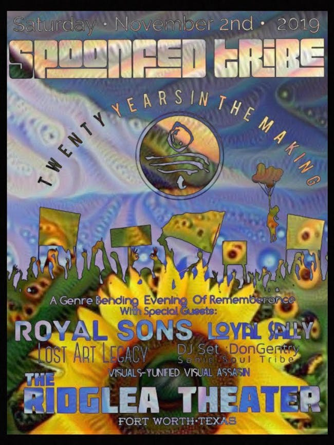 Spoonfed Tribe 20 Year Anniversary Show w/ Royal Sons, Loyal Sally and more