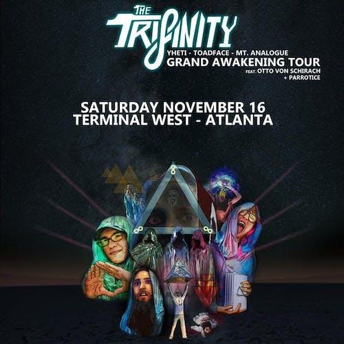 The Trifinity, Yheti, Toadface, Mt. Analogue