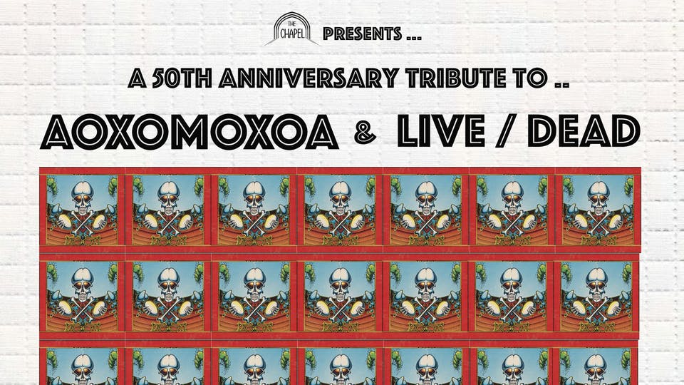Live/Dead - 50th anniversary celebration of The Grateful Dead's 1969 album