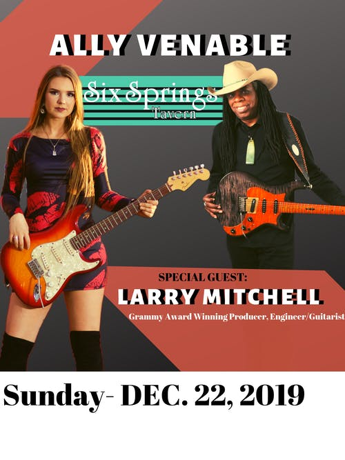 Ally Venable with Special Guest Larry Mitchell and Ugly Sweater Party!