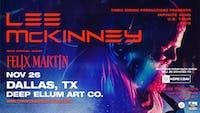Lee McKinney – Infinite Mind Tour at Deep Ellum Art Co