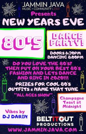 New Years Eve 80's Dance Party! w/ DJ Darin