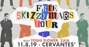 Skizzy Mars - The Free Skizzy Mars Tour w/ Yoshi Flower, Zaia
