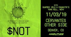 $not w/ Guapboi Velo & cHunnitM's, Yung Kell, Nevv