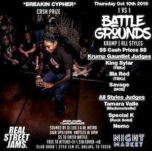 Battlegrounds: Krump | All Styles