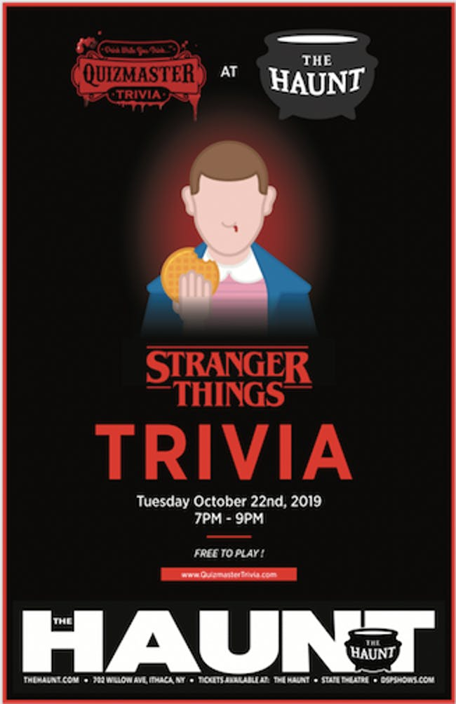 Stranger Things Trivia Night