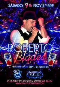 ROBERTO BLADES en vivo!