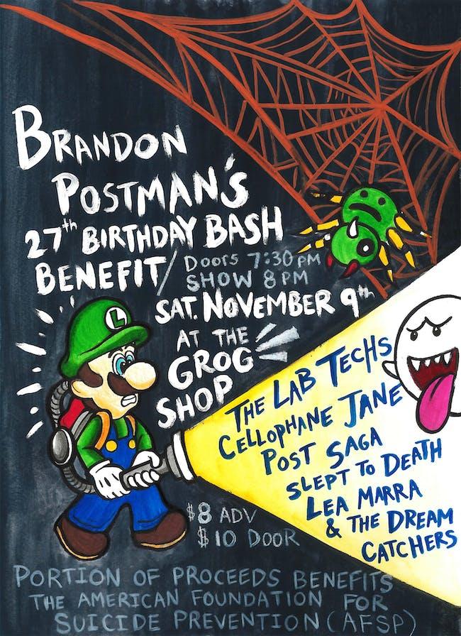Brandon Postman's 27th Birthday Bash Benefit