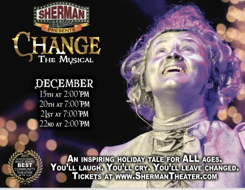 Change The Musical SUN DEC 15