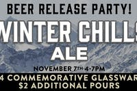 Winter Chills Ale Beer Release Party