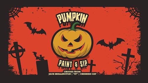 The Great Pumpkin Paint & Sip