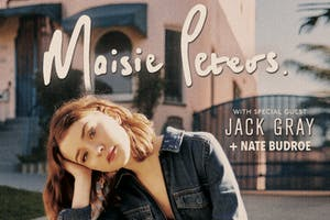 MAISIE PETERS with Jack Gray and Nate Budroe