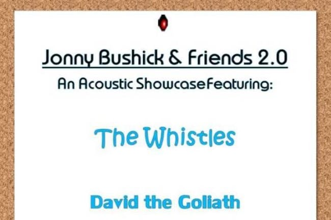 The Whistles, David the Goliath, aMostHumanHuman, Jonny Bushick