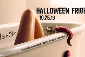 Halloween Frights at Elevate Nightclub NYC 10/25