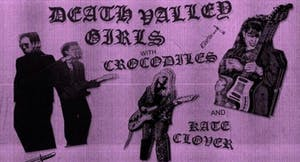Death Valley Girls + Crocodiles