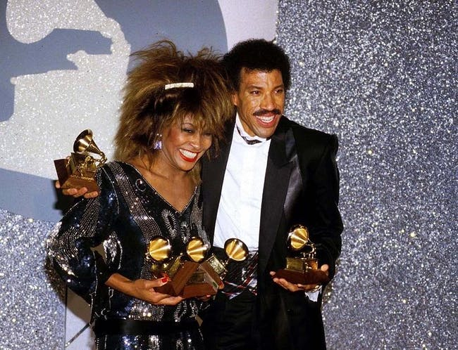 The Music of Lionel Richie & Tina Tuner  Produced by Arron Mayfield