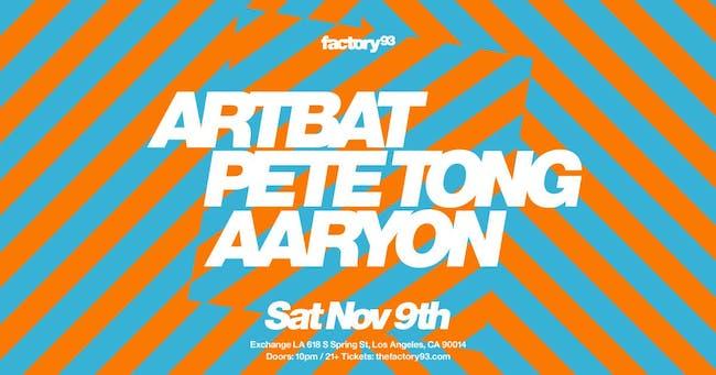 ARTBAT and Pete Tong