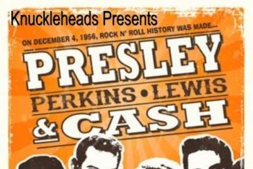 Presley, Perkins, Lewis, and Cash